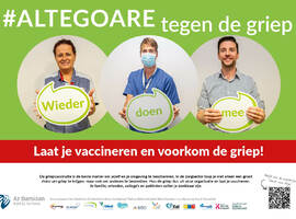 West-Vlaamse ziekenhuizen voeren samen campagne voor griepvaccinatie