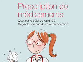 Une brochure et une affiche sur les nouvelles modalités de prescriptions  (Inami)