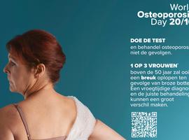 1 op 3 vrouwen en 1 op 5 mannen boven de 50 jaar loopt een botbreuk op door osteoporose