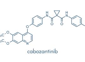 Cabozantinib-docetaxel bij mCRPC