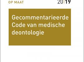 Gecommentarieerde Code medische deontologie verschijnt bij Larcier