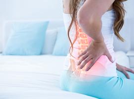 Fracture disco-corporéale du plateau vertébral inférieur sur hyperostose squelettique idiopathique diffuse