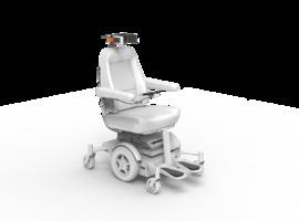 Spin-off van KU Leuven brengt slimme rolstoel op de markt