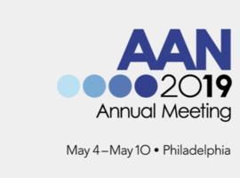 American Academy of Neurology Annual Meeting (Philadelphia, 4-10 mai 2019)