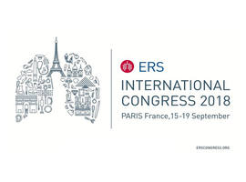 28th European Respiratory Society International Congress