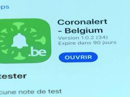 Le test de l'application Coronalert débute ce vendredi