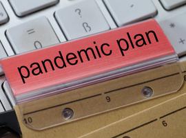 Het pandemieplan was klaar, maar het lag al jaren stof te vergaren