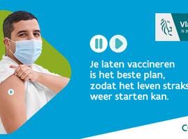 Vlaanderen blijft hoog scoren in de Europese vaccinatietop