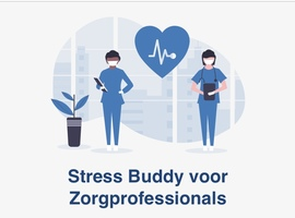 Digitale Stress Buddy voor zorgverstrekkers in coronatijden