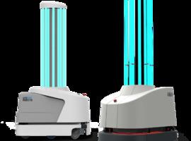 Des hôpitaux belges reçoivent des robots de désinfection financés par l'UE