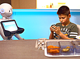 Sociale robot steunt kinderen met diabetes