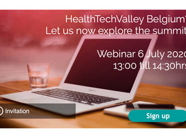 HealthTechValley Belgium? Let us now explore the summit!