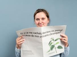 Les Belges et l'urticaire: plus de 40% des Belges pensent que l'urticaire est une maladie allergique