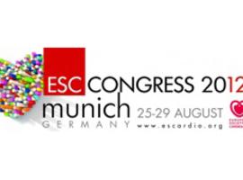 Jaarlijks congres van de European Society of Cardiology (München, 25-29/08/2012)