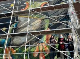 Une nouvelle fresque pour le parcours street art à Bruxelles