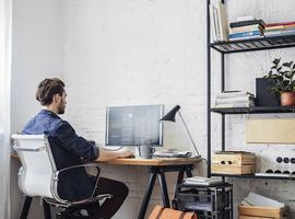 Belgen verplaatsen zich 41 procent minder naar het werk