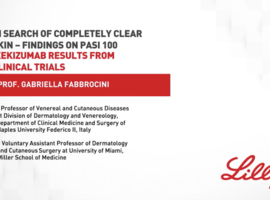 Prof. Gabrielle Fabbrocini presents ixekizumab results