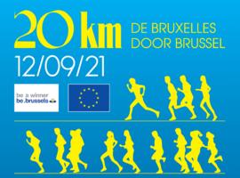 Le Covid Safe Ticket sera de mise à la 41ème édition des 20 km de Bruxelles