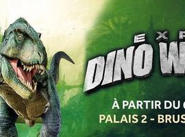 L'expo Dino World arrive à Bruxelles