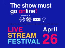 Eerste online muziekfestival op 26 april