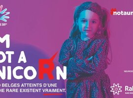RaDiOrg maakt mensen met zeldzame ziektes zichtbaar met #notaunicorn-campagne