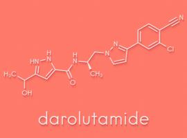 Le darolutamide dans le cancer de la prostate non métastatique résistant à la castration