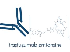 Trastuzumab-emtansine bij residuele invasieve HER2-positieve borstkanker