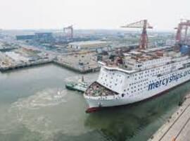 Le Global Mercy, le plus grand navire-hôpital privé au monde, est arrivé au port d'Anvers