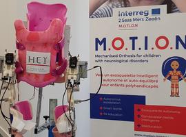 Un exosquelette pour la revalidation des enfants infirmes moteurs cérébraux