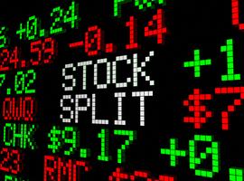 De aandelensplit, wat is de bedoeling?