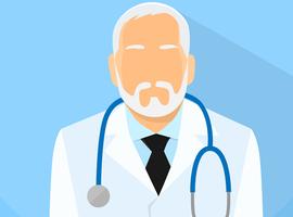 Où trouve-t-on le plus de médecins actifs après l'âge de la retraite?