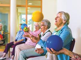 Un outil pour remettre les personnes âgées institutionnalisées en mouvement: GAMotion