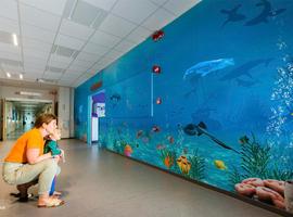 ZNA Koningin Paola Kinderziekenhuis brengt patiëntjes tot rust in onderwaterwereld
