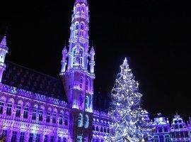 Winterpret Brussel plechtig geopend