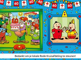 Stickerverkoop Rode Kruis haalt slechts helft van normale opbrengst