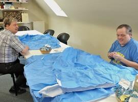 Het A.S.Z. zet in op duurzaamheid met recyclage sterilisatiedoeken