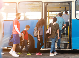 Reizen met het openbaar vervoer zou meer kans geven op longkanker