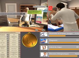 La réalité virtuelle pour mieux évaluer l'étudiant en médecine