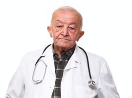 Zijn gepensioneerde artsen die voortwerken tweederangsartsen?