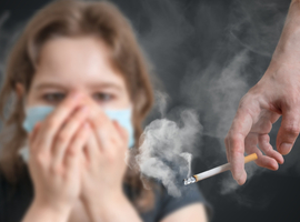 Verband tussen passief roken en hypertensie