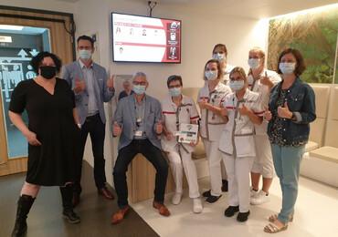 Digitale primeur voor patiënten en bezoekers in AZ Alma