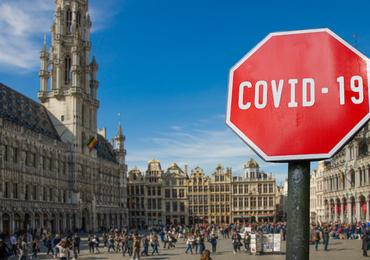 Brussel kleurt nu ook oranje op Europese coronakaart